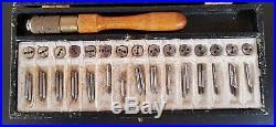 Vintage Watchmakers Tap & Die Set