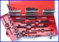 Volkel 49183 M3-M12 HSS Tap, Die And Drill Set
