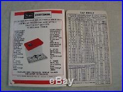 Vtg CRAFTSMAN Made in USA 41 PIECE TAP & DIE SET