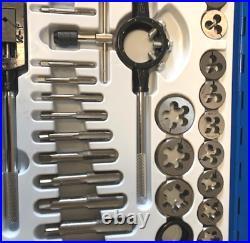WNB 45pc Tap and Die Set Thread Rethreading Set Tools Metric MM Large M6 to M24