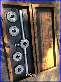 Wells Brothers Greenfield Tap and Die Little Giant No 101 Box Set