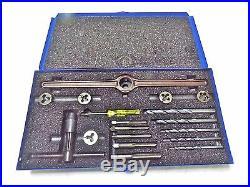 Widia GTD HS Metric Tap & Die Set M6-M12 with Drills & Die Stock Qty. 18 #00451